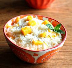 coconut & mango sweet rice
