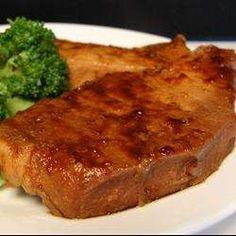 Côtelettes de porc à l'asiatique, à la mijoteuse - Recettes Allrecipes Québec