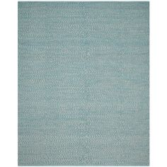Safavieh Hand-Woven Montauk Flatweave Turquoise / Multicolored Cotton Rug (8