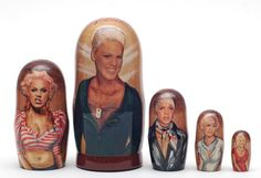 Matryoshka nesting doll Pink | ArtMatryoshka - Toys & Hobbies on ArtFire