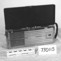 Radio receivers, like this one, were widely popular during this time period, 1950s. #FromSciTechMuseum