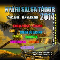 Gyere velünk SalsaNyaralni július 07-14-ig! Kezdőtől a haladó szintig lehet jönni! Intenzív fejlődési lehetőség. Rengeteg tánc, buli, haverok! Kubai hangulat! infó: 20/4479811 vagy info@salsatropical.hu www.salsatropical.hu