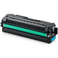 Compatible replacement for Samsung CLT-C506L Cyan laser toner cartridge