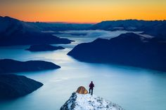 Roy's Peak, Wanaka, New Zealand