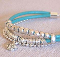pulsera del conjunto PLAYA.Pulsera+ collar 20€. ideal para hacer un regalo y quedar como una reina!