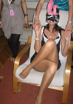 Parties Matures And Pantyhose Brawny 61