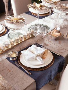 Viste tu #mesa con los textiles más chic #vajilla #menaje