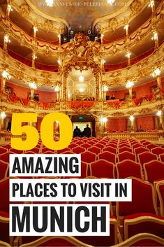 The 50 best tourist attractions in Munich, Germany. Bavaria's capital has so many points of interest and things to do, you can easily spend a week in one of the… Europe Travel Guide, Europe Destinations, Travel Guides, Holiday Destinations, Traveling Tips, Packing Tips, Asia Travel, Travelling, Visit Munich