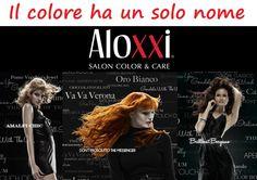 I colori per capelli sul mercato sono tantissimi: alcuni buoni, altri meno buoni, altri ancora… lasciamo perdere. E il miglior colore al mondo è: AloXXi! L'unico con i micropigmenti rifrangenti, con una durata eccezionale, l'unico vero Colore Personalità per indossare il proprio modo di essere e la propria grinta! Veniteci a trovare su www.aloxxi.it