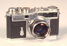 Nikon SP (rangefinder) I want this it's so old yet so cool