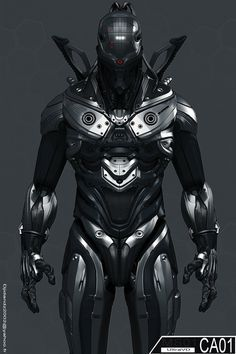 futuristic Power armor art - Google Search