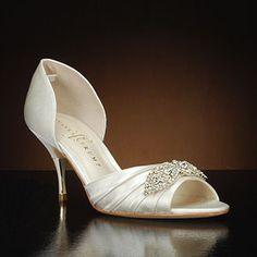 bee485284d1 IVANKA TRUMP NANCI2 Wedding Shoes and NANCI2Dyeable Bridal Shoes IVORY Bridal  Shoes