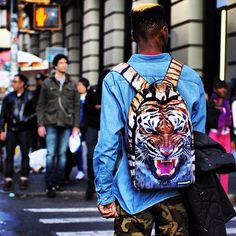 (1) Fancy - Year Of The Tiger Backpack by Sprayground