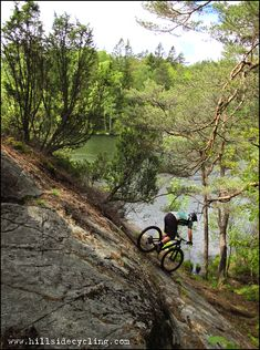 """Dropping!"" Rider: Greg Heil. Photo: Leo Ranta."