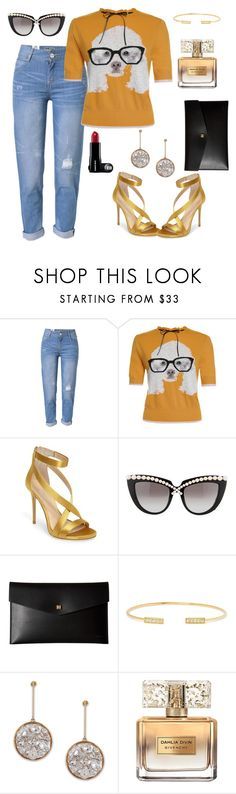"""Nerd sexy"" by blushford ❤ liked on Polyvore featuring WithChic, Imagine by Vince Camuto, Anna-Karin Karlsson, Lodis, Jemma Wynne, STELLA McCARTNEY and Givenchy"