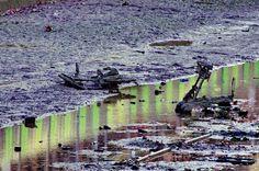 https://flic.kr/p/D1MyLC | Paris en Janvier 2016 48 - Comme tous les 15 ans, le Canal Saint-Martin a été vidé pour nettoyage