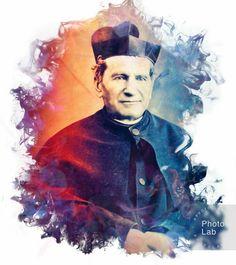 St John Bosco, Hey You, Santa Maria, All Saints, Catholic, Mary, Movie Posters, Painting, Jesus Is