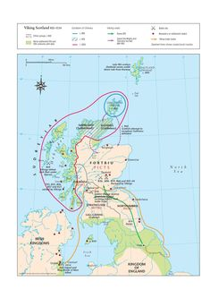 Explore key events from Viking Scotland, with this map covering the years 800 to World History Map, Uk History, British History, Family History, Viking Names, Vikings, Clan Macdonald, Moving To Ireland, Map Of Britain