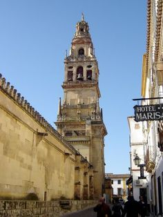 Córdoba - Mezquita - Torre del Alminar    *** photo Robert Bovington ***  http://www.panoramio.com/user/2391258