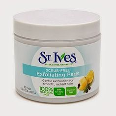 Dupe for Philosophy Microdelivery Peel Pads and it's $5! St. Ives Scrub Free Exfoliating Pads.