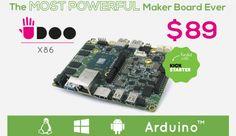 Udoo, una verdadera placa todo en uno # Cada vez se usan más placas de Hardware Libre, placas como Arduino o Raspberry Pi. En algunos proyectos necesitamos unas placas, en otros proyectos usamos otras distintas y en algunos otros podemos utilizar todas las ... »