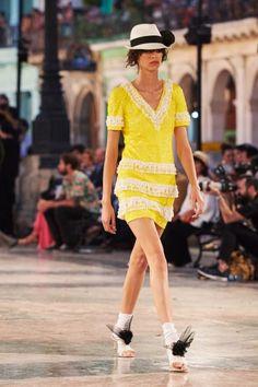 Chanel en Cuba: Desfile Colección Crucero 2017 - Style Lovely