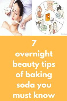 7 overnight beauty tips of baking soda you must know Baking soda is not the only. 7 overnight beauty tips of baking soda you must know Baking soda is not the only Baking Soda For Acne, Baking Soda Shampoo, Beauty Tips For Skin, Beauty Hacks, Beauty Secrets, Daily Beauty, Beauty Products, Skin Care Regimen, Skin Care Tips