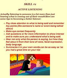 Active listening for relationships (don't mind the romantic fireside image - all of this applies to the tutor-learner relationship, too!)