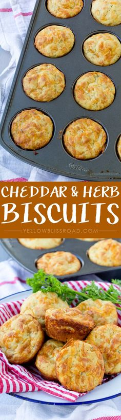 Cheddar & Herb Biscu