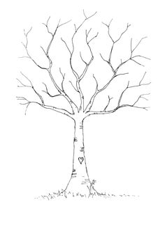 family tree ideas for kids, guest books, school, family trees, fingerprint crafts, tree printable, family tree fingerprint, fingerprint tree template, printable tree template