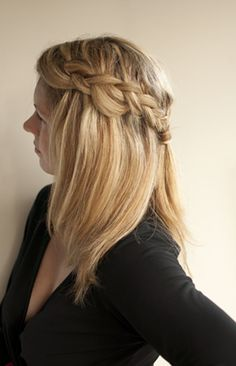 Something a little more elegant than wearing a ponytail around the house!