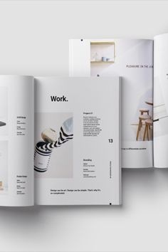 Carry out your next design proposal effectively with the Voom Proposal Template, in which you can incorporate your own elements and elevate your brand. Minimal Graphic Design, Graphic Design Brochure, Graphic Design Books, Brochure Layout, Design Portfolio Layout, Page Layout Design, Web Design, Book Layout, Editorial Layout