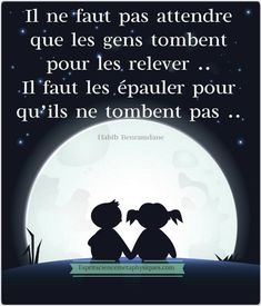 Il ne faut pas attendre que les gens tombent pour les relever. Il faut les épauler pour qu'ils ne tombent pas. #citation #citationdujour #proverbe #quote #frenchquote #pensées #phrases French Words, French Quotes, Best Quotes, Life Quotes, Quote Citation, Positive Inspiration, Thing 1, Positive Attitude, Positive Mind