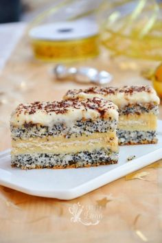 Prajitura Tosca, o delicioasa prajitura cu crema de vanilie - Casuta Laurei