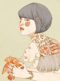 Resultado de imagen para illustration tumblr