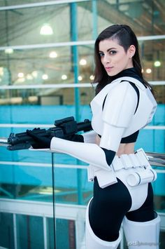 This web is a place for lovers of all things related to the world of cosplay and steampunk style. You can also send me your own post about cosplay world. Star Wars Mädchen, Star Wars Girls, Star Wars Humor, Cosplay Anime, Best Cosplay, Cosplay Girls, Female Stormtrooper, Meninas Star Wars, Sith