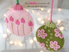 Felt -Ornament- DIY19