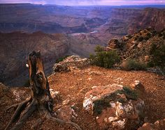 Grand Canyon looking at Colorado River from Desert View Point (South Rim).