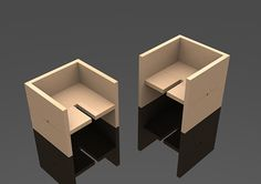 The process of design a flatpackable chair