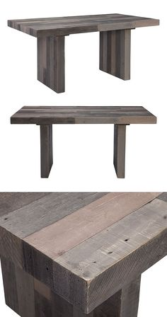 Make your daily meals all the more enjoyable with this handsome, multi-hued table. Responsibly fashioned from recycled pine, this stunning Reclaimed Dining Table will make a truly pleasant addition to ...  Find the Reclaimed Dining Table, as seen in the Rustic Minimalism In Portugal  Collection at http://dotandbo.com/collections/rustic-minimalism-in-portugal?utm_source=pinterest&utm_medium=organic&db_sku=118307