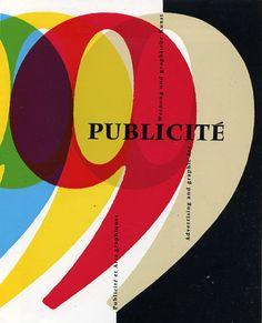 Publicite 1957