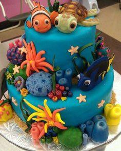 I love this Nemo cake!