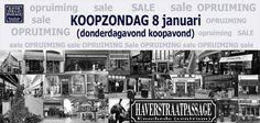 KOOPZONDAG 8 januari 2017 in #Haverstraatpassage #Enschede (centrum).  Kom even winkelen en profiteer nu van onze #OPRUIMING / #SALES weken.