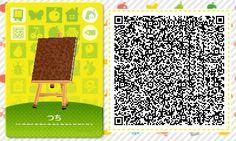 Animal Crossing: New Leaf & HHD QR Code Paths  garden dirt  #5