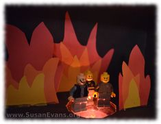 Fiery Furnace Craft - http://susanevans.org/blog/fiery-furnace-craft/