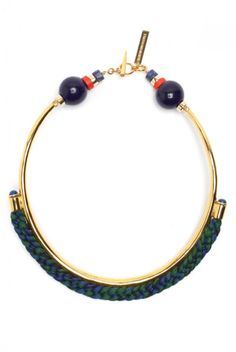Lizzie Fortunato Simple Sophisticate Necklace in Green in Green