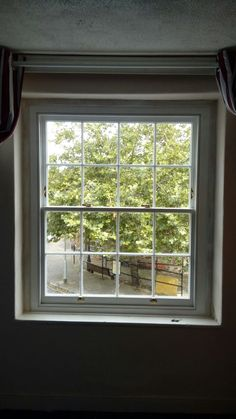 Internal view of the listed building window