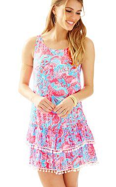 Lilly Pulitzer Natashia Scoop Neck Tank Dress