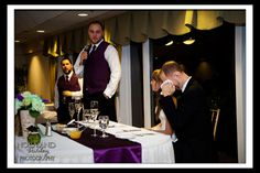 Emotional toast Amber and Colby's Wedding ~ Twin Hills Country Club, East Longmeadow MA