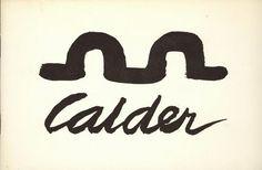Alexander Calder. Roma, Galleria Arco d'Alibert, 1967
